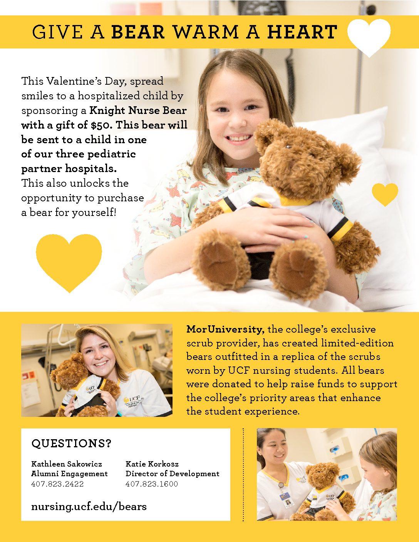 2017 Bear Poster: Give a Bear, Warm a Heart