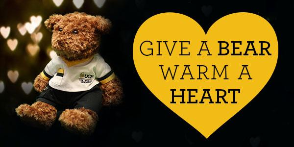 Give a BEAR warm a HEART