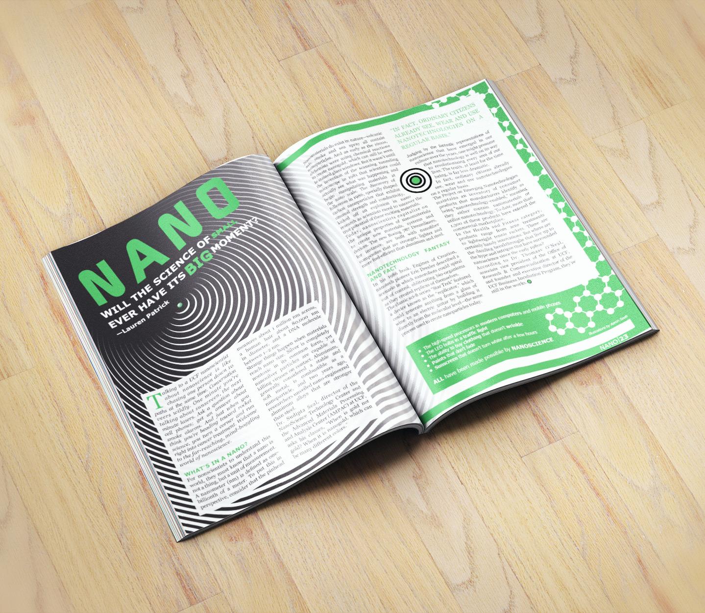 Nano Magazine Spread