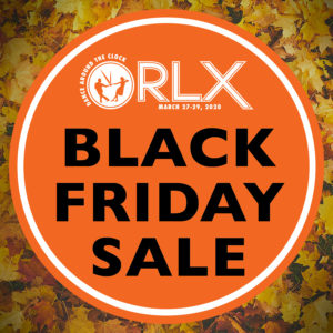 ORLX Black Friday